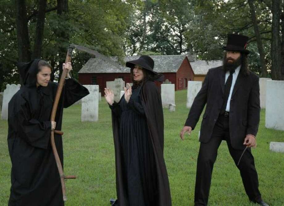 "Tales of Witchcraft and Tombstones Tours, Webb-Deane-Stevens Museum, Wethersfield -- Exploration of the home featured in ""The Witch of Blackbird Pond"" and Wethersfield's Ancient Burying Ground. Saturday, Oct. 19 and 26; Sunday, Oct. 20 and 27. $13. 211 Main St. 860-529-0612, ext. 12, www.webb-deane-stevens.org."