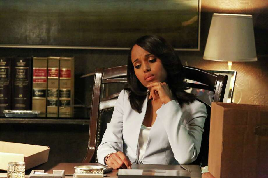 "Olivia Pope, played by Kerry Washington in the drama ""Scandal,"" broods over her romantic-political options. Her character's plain talk is something politicians should emulate."