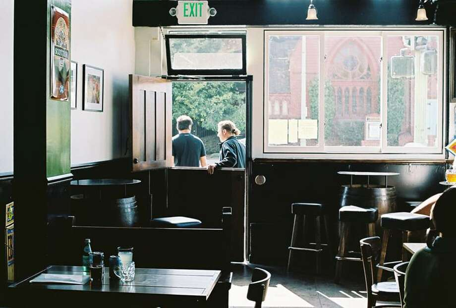 Alternate coffee with beer at CommonWealth Cafe and Public House in Oakland. Open your laptop at one of their large tables and have at it.   Details: 2882 Telegraph Avenue, Oakland. Friday hours: 10 a.m. to 11 p.m. Photo: Valerie Cochran , Courtesy