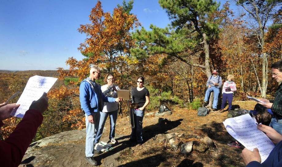 A hike to Pine Mountain in Ridgefield to the spot where Ives had a lean-to and where he sat and composed. Meet at 9:30 am at Pine Mountain Road in Ridgefield. This hike is moderately difficult.  If you plan to join the hike, call Nancy Sudik at the Danbury Music Centre at  203-748-1716 in advance. Photo: Michael Duffy