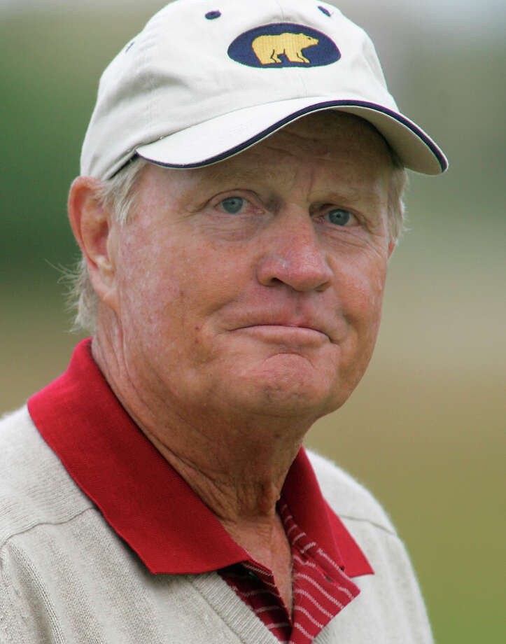 Jack Nicklaus of the United States during the first round of the British Open golf championship on the Old Course at St. Andrews, Scotland Thursday July 14, 2005. (AP Photo/Ted S. Warren) Photo: TED S. WARREN / AP
