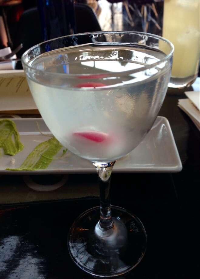 Mezcal cocktail with sake and radish at La Urbana ($11)