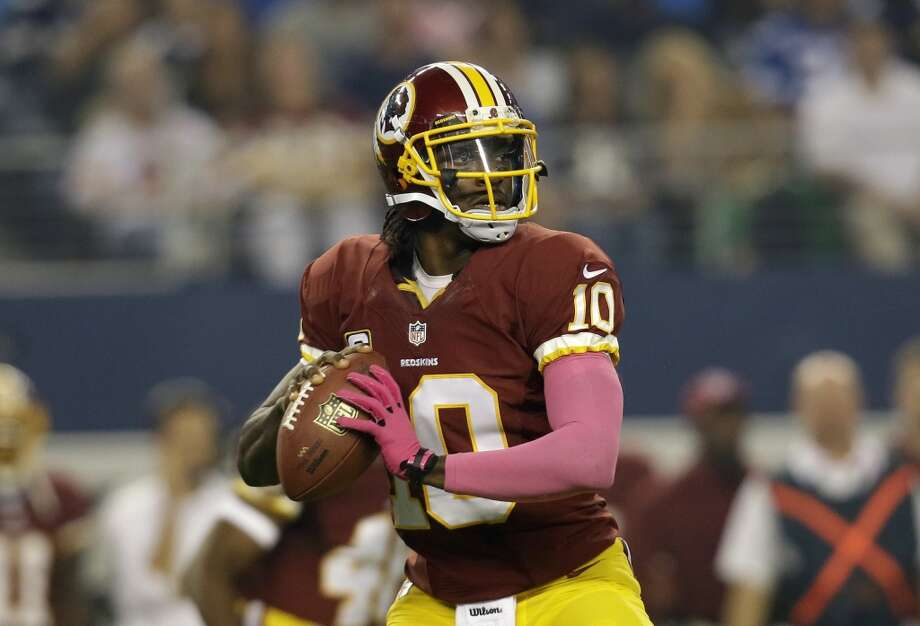 Chicago (4-2) plus-1 at Washington (1-4): Redskins 21-17 Photo: Tim Sharp, Associated Press