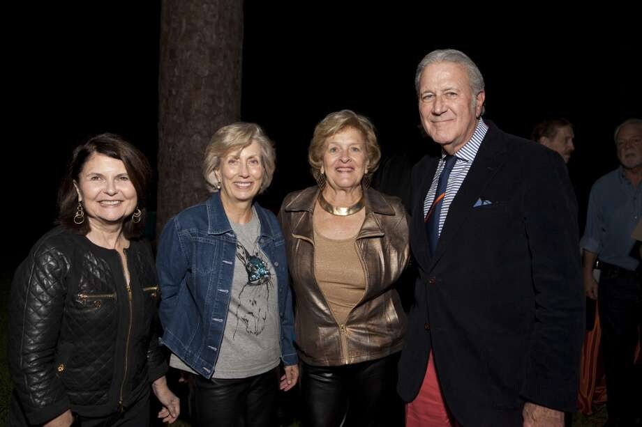Gayl Carlberg, left, Ann Lents, Kathy Lord and Chuck Carlberg Photo: Jenny Antill