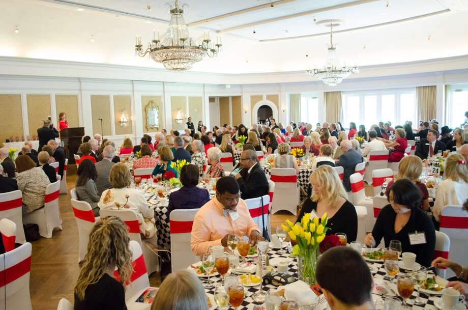A view of the Moores Society Luncheon at the River Oaks Country Club Photo: Jamaal Ellis, For The Chronicle