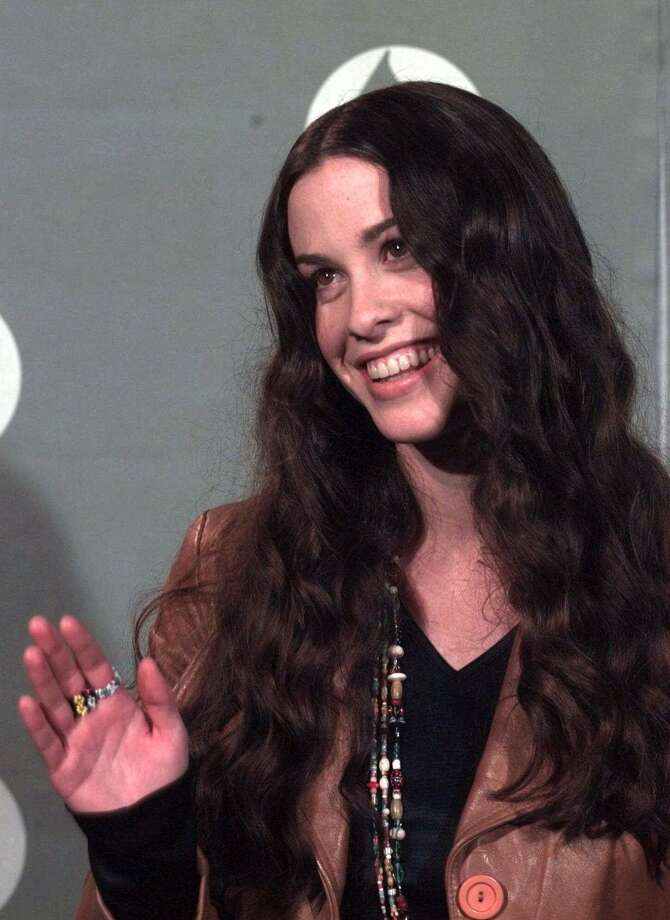 """Before her album, """"Jagged Little Pill"""" became a success, Alanis Morissette appeared on Nickelodeon's """"You Can't Do That On Television"""" from 1986-1987. Photo: REED SAXON, AP / AP"""