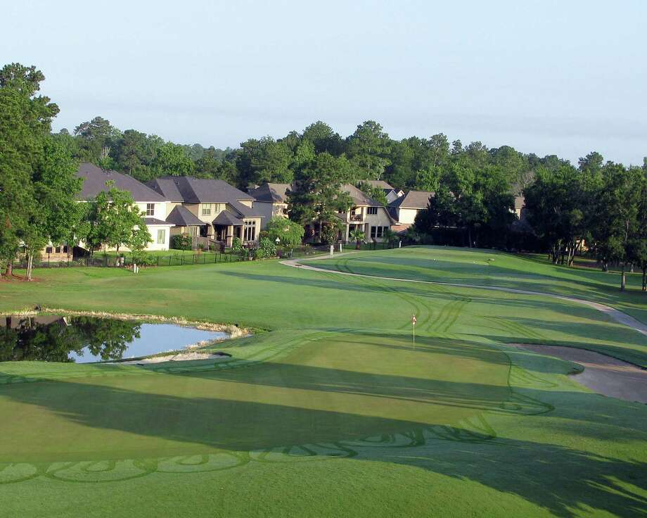 The Oakhurst Golf Course (shown) is a daily fee golf course that provides premium homesites for builders in Oakhurst at Kingwood.