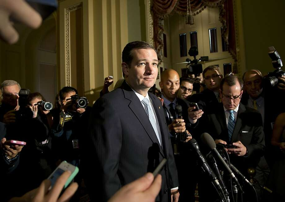 Sen. Ted Cruz, R-Texas, remained defiant last week after the House and Senate approved a deal to keep the government open. Photo: Carolyn Kaster, Associated Press