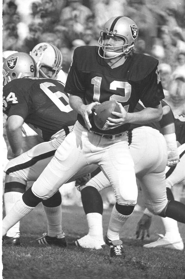 Ken StablerYear: 1972 (with Raiders) Week 7Result: Loss at Steelers 34-28Stats: 5-12 for 54 yards, 0 TD, 3 INTs - 16.0 rating Photo: Associated Press