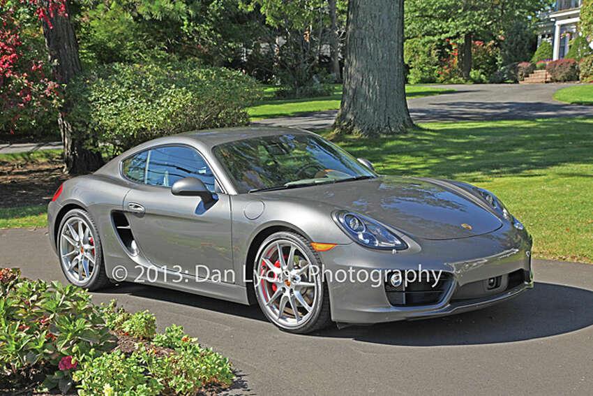 2014 Porsche Cayman S (photo by Dan Lyons)