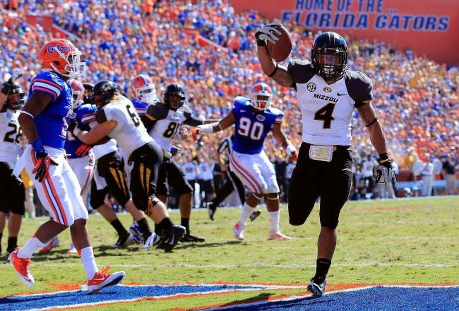 Mizzou with more than a shot against Florida even without James Franklin, the quarterback.