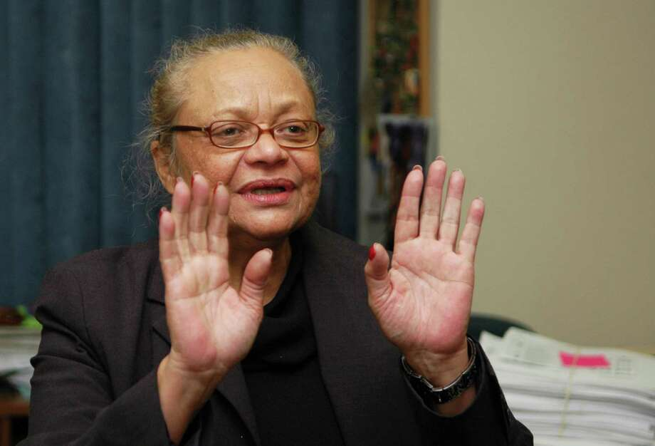 Santa Ayala, the Democratic registrars of voters in Bridgeport, defended her office's handling of Tuesday elections, saying proper procedures were followed even though thousands of ballots had to be hand-counted because the supply of machine-scored ballots ran short. Ayala was at the Registrars of Voters office at McLevy Hall in Bridgeport Conn. on Wednesday November 3, 2010. Photo: Cathy Zuraw, File Photo / Connecticut Post