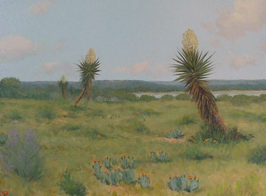 """Capturing South Texas on Canvas"" by Porfirio Salinas is on exhibit in The Witte Museum through February 9, 2014."