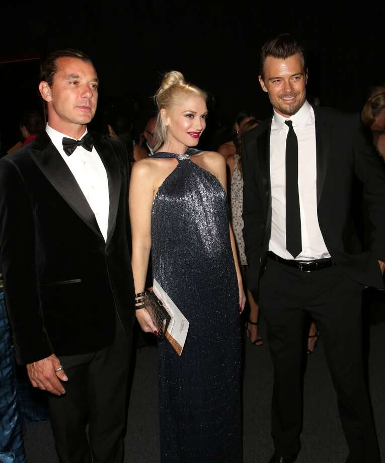 From left, musicians Gavin Rossdale, Gwen Stefani and actor Josh Duhamel attend the Wallis Annenberg Center for the Performing Arts Inaugural Gala on Thursday, Oct. 17, 2013, in Beverly Hills, Calif. (Photo by Brian Dowling/Invision/AP) Photo: Associated Press