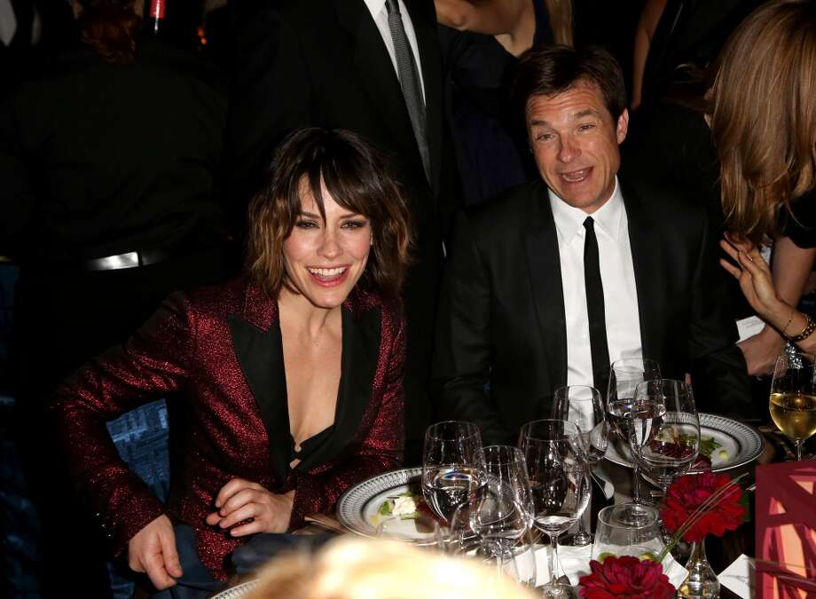 Actors Evangeline Lilly, left, and Jason Bateman attend the Wallis Annenberg Center for the Performing Arts Inaugural Gala on Thursday, Oct. 17, 2013, in Beverly Hills, Calif. (Photo by Brian Dowling/Invision/AP) Photo: Associated Press