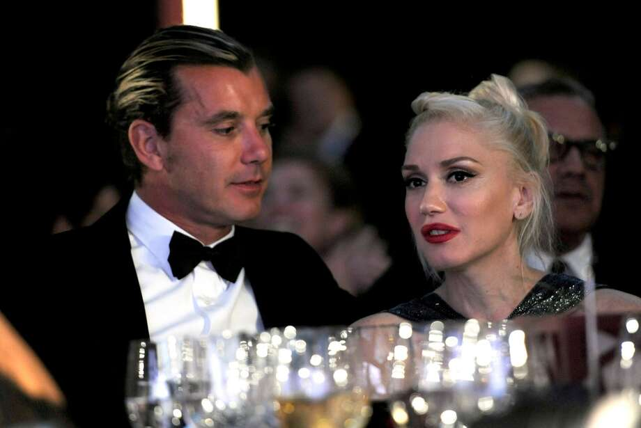 Musicians Gavin Rossdale, left, and Gwen Stefani attend the Wallis Annenberg Center for the Performing Arts Inaugural Gala on Thursday, Oct. 17, 2013, in Beverly Hills, Calif. (Photo by Chris Pizzello/Invision/AP) Photo: Associated Press
