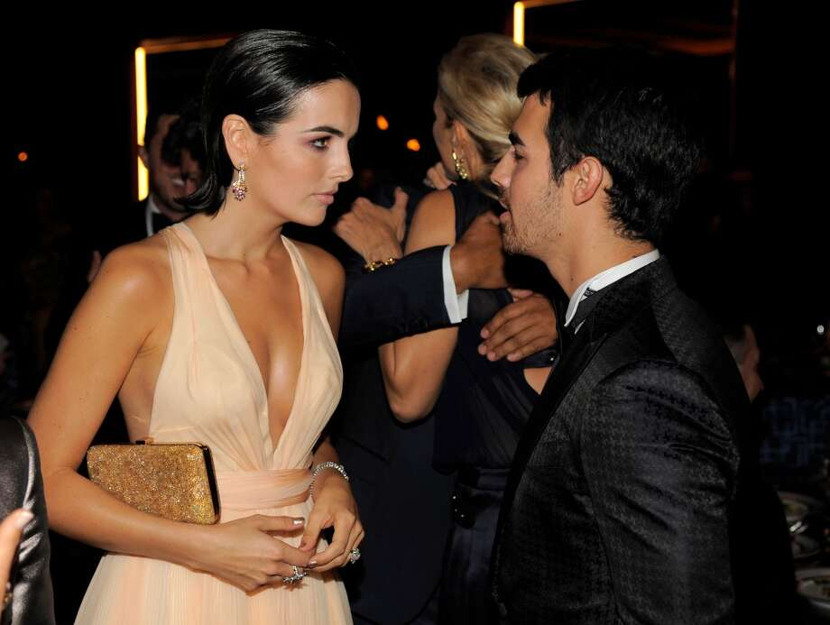 Actress Camilla Belle, left, and musician Joe Jonas attend the Wallis Annenberg Center for the Performing Arts Inaugural Gala on Thursday, Oct. 17, 2013, in Beverly Hills, Calif. (Photo by Chris Pizzello/Invision/AP) Photo: Associated Press
