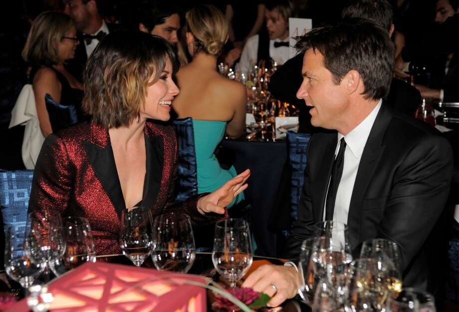 Actors Evangeline Lilly, left, and Jason Bateman attend the Wallis Annenberg Center for the Performing Arts Inaugural Gala on Thursday, Oct. 17, 2013, in Beverly Hills, Calif. (Photo by Chris Pizzello/Invision/AP) Photo: Associated Press