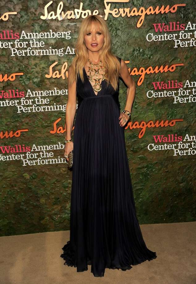 Stylist/TV personality Rachel Zoe arrives at the Wallis Annenberg Center for the Performing Arts Inaugural Gala on Thursday, Oct. 17, 2013, in Beverly Hills, Calif. (Photo by Chris Pizzello/Invision/AP) Photo: Associated Press