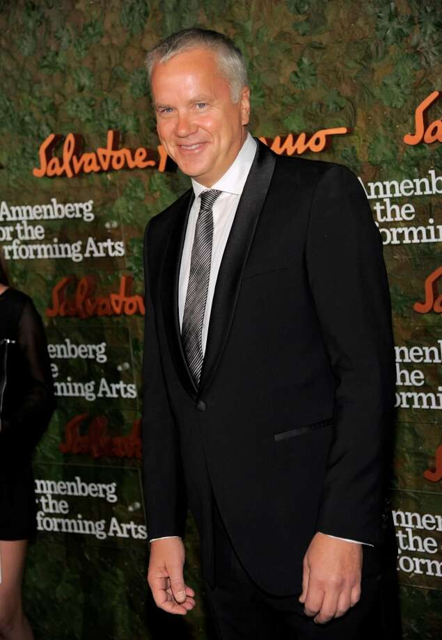 Actor Tim Robbins arrives at the Wallis Annenberg Center for the Performing Arts Inaugural Gala on Thursday, Oct. 17, 2013, in Beverly Hills, Calif. (Photo by Chris Pizzello/Invision/AP) Photo: Associated Press