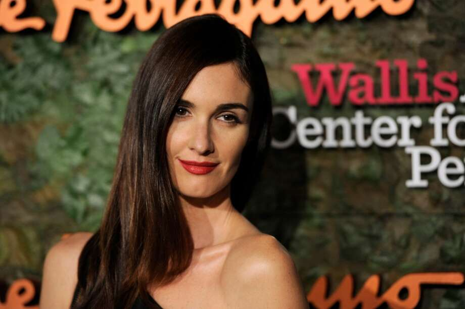 Actress Paz Vega arrives at the Wallis Annenberg Center for the Performing Arts Inaugural Gala on Thursday, Oct. 17, 2013, in Beverly Hills, Calif. (Photo by Chris Pizzello/Invision/AP) Photo: Associated Press