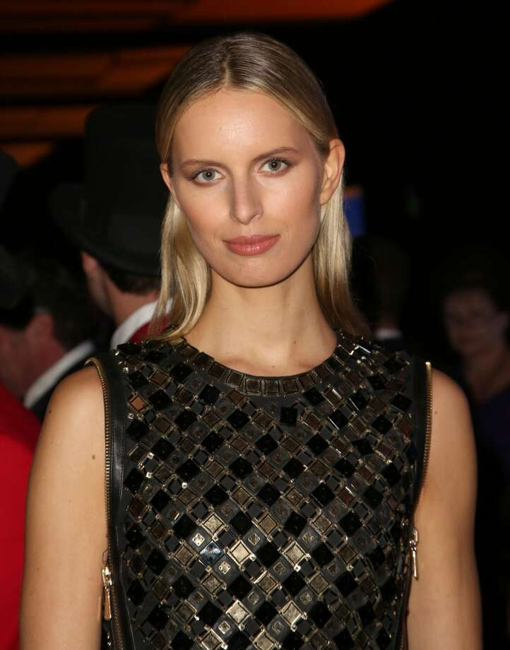 Model Karolina Kurkova attends the Wallis Annenberg Center for the Performing Arts Inaugural Gala on Thursday, Oct. 17, 2013, in Beverly Hills, Calif. (Photo by Brian Dowling/Invision/AP) Photo: Associated Press