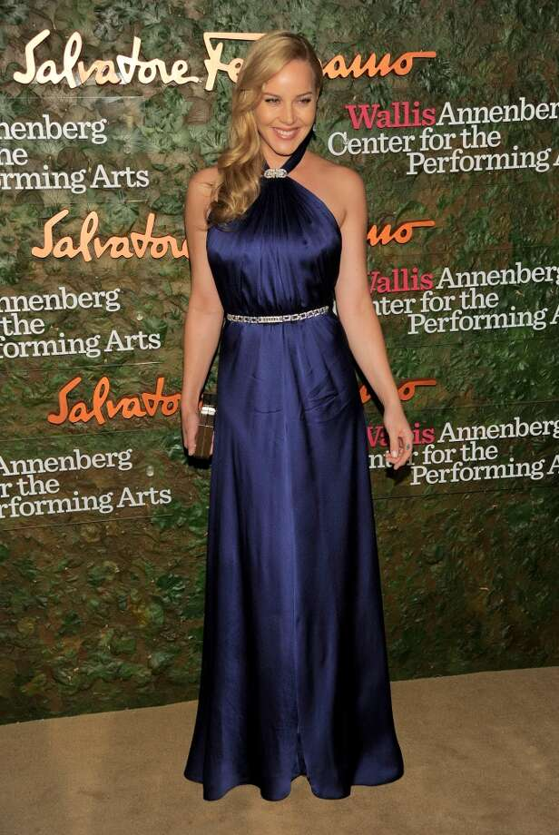 Actress Abbie Cornish arrives at the Wallis Annenberg Center for the Performing Arts Inaugural Gala on Thursday, Oct. 17, 2013, in Beverly Hills, Calif. (Photo by Chris Pizzello/Invision/AP) Photo: Associated Press