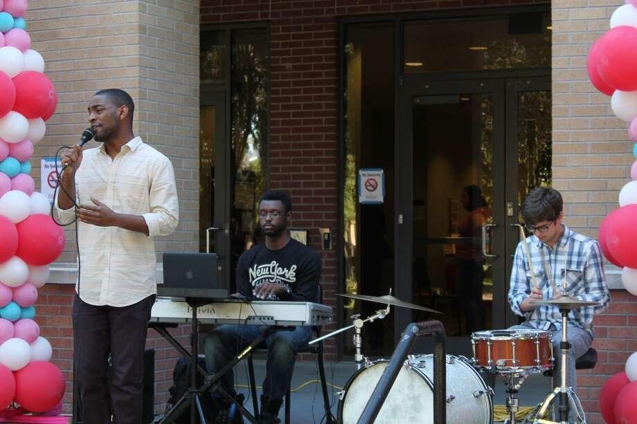 Princeton Miles and band.