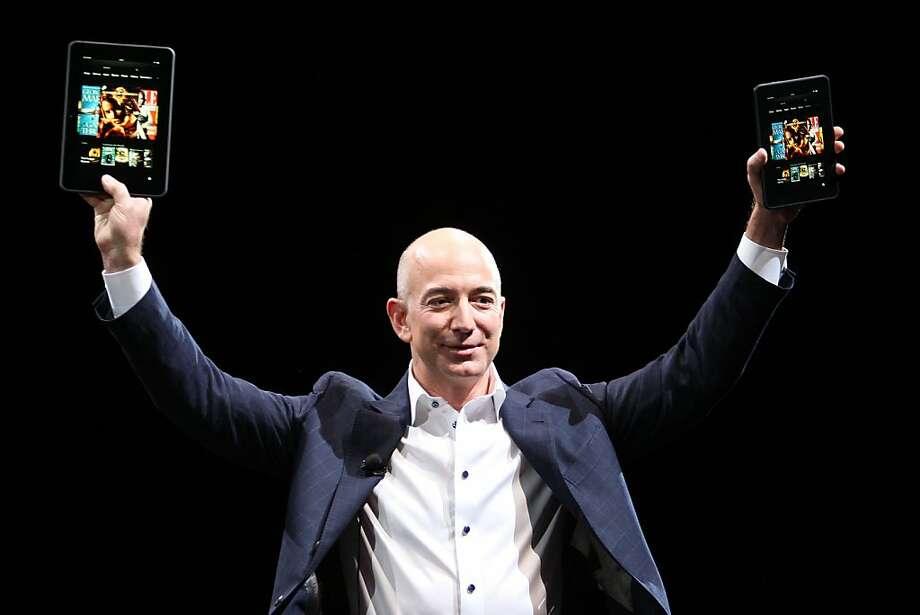 15. Jeff Bezos,founder of Amazon Photo: David McNew, Getty Images