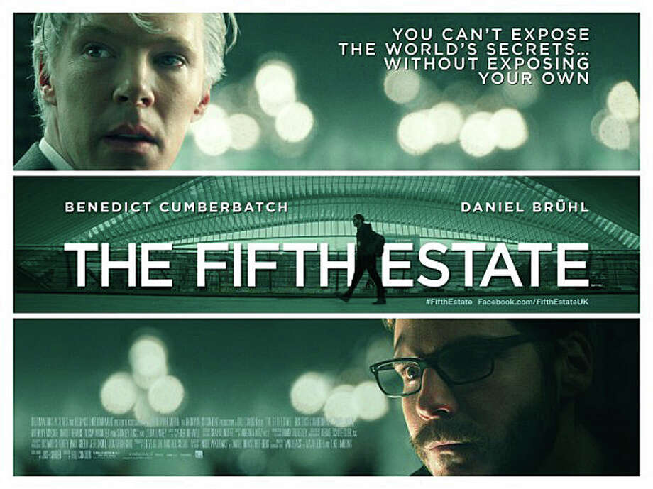 """The Fifth Estate,"" a dramatization of the WikiLeaks scandal, is now playing in area theaters. Photo: Contributed Photo / Westport News contributed"