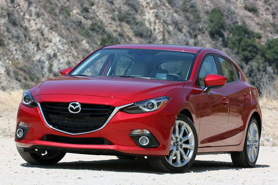 Model:  2014 Mazda3The all-new third generation Mazda3, this automaker's best-selling model worldwide, is lighter, more efficient, and packed with advanced electronics.Source: Green Car Journal Photo: Autoblog.com