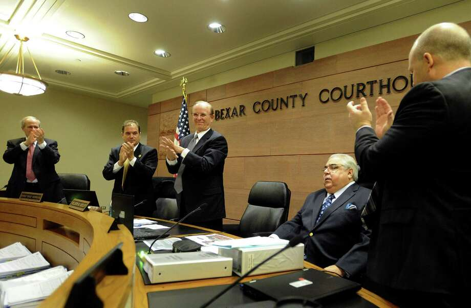 Bexar County Commissioners Court, once again, seems intent on adding to the county's judicial payroll. Photo: Express-News File Photo