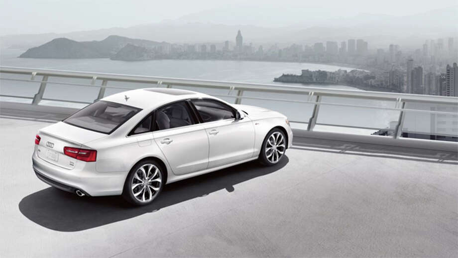 Audi A6 (pictured), Lexus LS, Audi A7 Photo: Audi