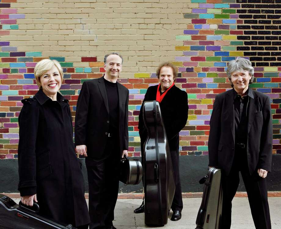 The Takács Quartet will play works by Mozart, Antonin Dvorak and Leoš JanaČek for the Society for the Performing Arts. Photo: Keith Saunders / www.keithsaundersphotography.com +61 418497791 To be used by Takasc SQ only for press and general publicity