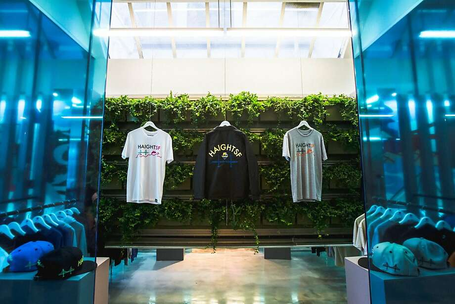 Pink Dolphin's new store on Haight Street in S.F. Photo:  Julian Edward