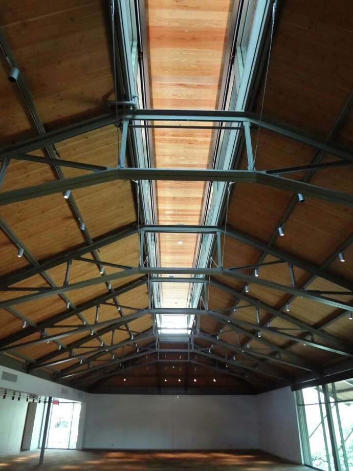 A clerestory ceiling on the third floor of the Jack Guenther Pavilion lets in lots of natural light. Photo: San Antonio Express-News