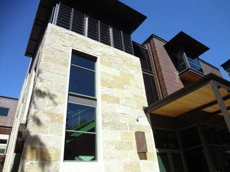 Native Texas Lueders limestone and copper sheeting were two of the materials used on the Jack Guenther Pavilion at the Briscoe Western Art Museum. Photo: San Antonio Express-News