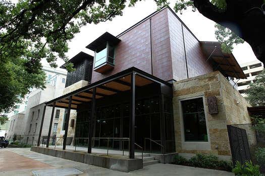 Exterior of the Briscoe Western Art Museum on Wednesday, Oct 16, 2013. Photo: Kin Man Hui, San Antonio Express-News / ©2013 San Antonio Express-News