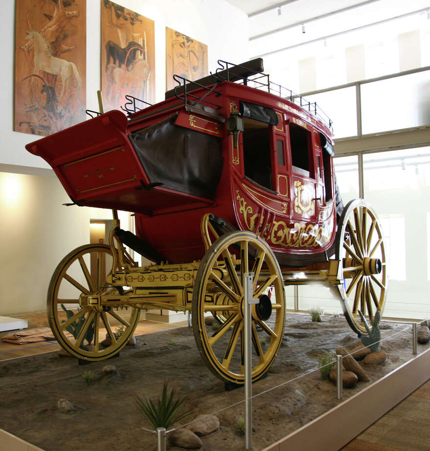 A stagecoach from the Stagecoach Gallery. Photo: Kristin Ware / Briscoe Museum Of Western Art / San Antonio Museum of Art