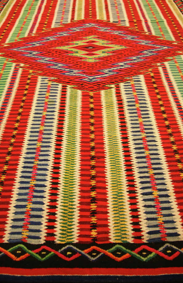 A serape from the Women of the West Gallery. Photo: Kristin Ware / Briscoe Museum Of Western Art / San Antonio Museum of Art