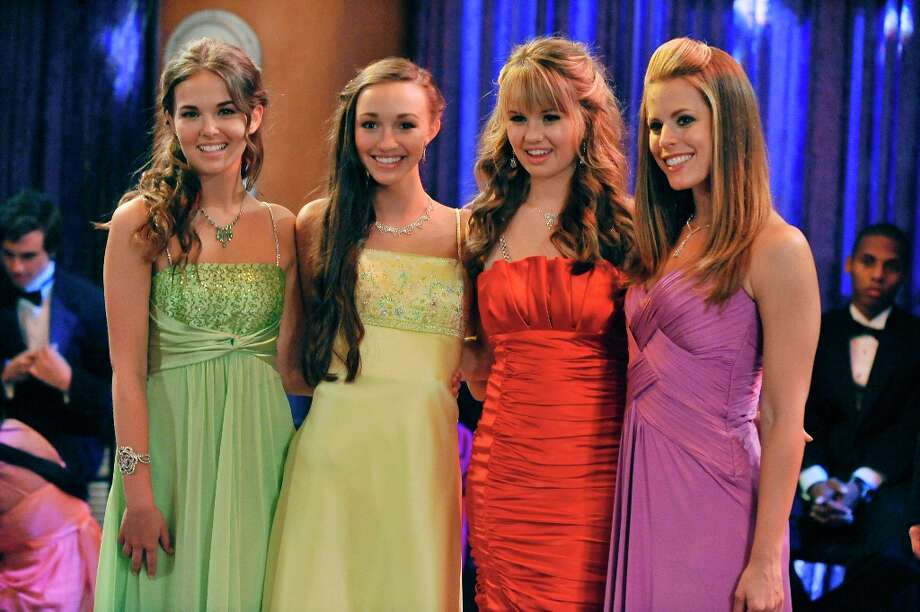 "Prom night on ""The Suite Life on Deck"" on the Disney Channel in 2010. (Photo by Eric McCandless/Disney Channel via Getty Images) Photo: Eric McCandless, Disney Channel Via Getty Images / 2011 Disney Enterprises, Inc."