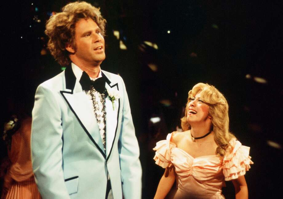 "Will Ferrell as Jim, Cheri Oteri as Deb during ""Always & Forever"" skit on October 7, 1995 (Photo by: Al Levine/NBC/NBCU Photo Bank via Getty Images) Photo: NBC, NBCU Photo Bank Via Getty Images / 2012 NBCUniversal Media, LLC."