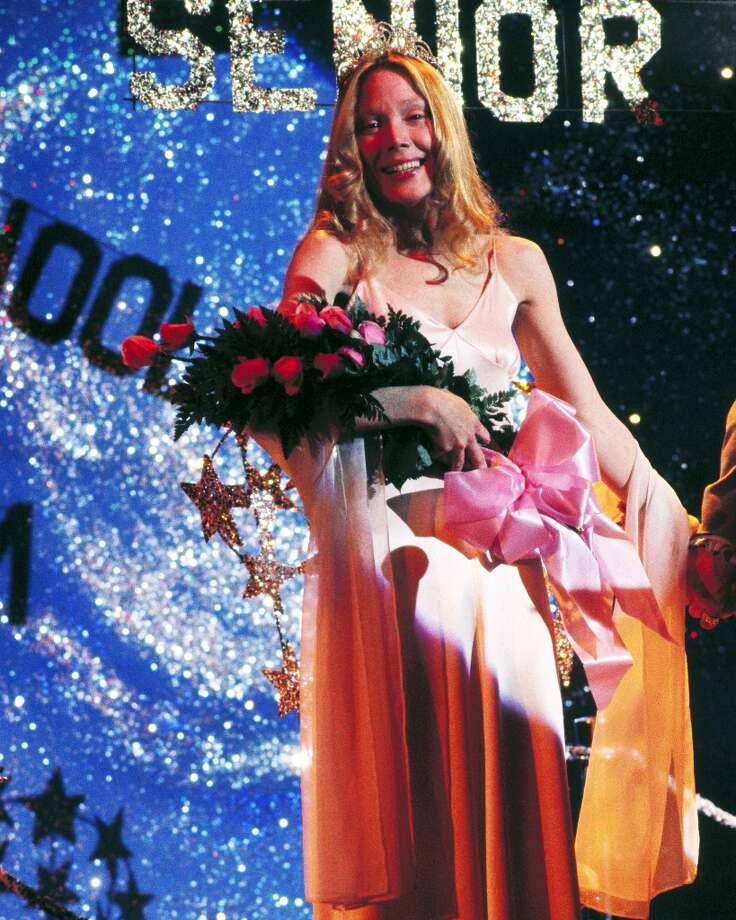 Carrie White, played by Sissy Spacek, is unexpectedly elected prom queen in Brian De Palma's horror film. Photo: Silver Screen Collection, Getty Images / 2012 Silver Screen Collection