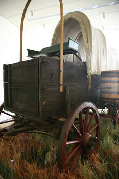 Detail of exhibit at Briscoe Western Art Museum. Photo: Kristin Ware / Briscoe Museum Of Western Art