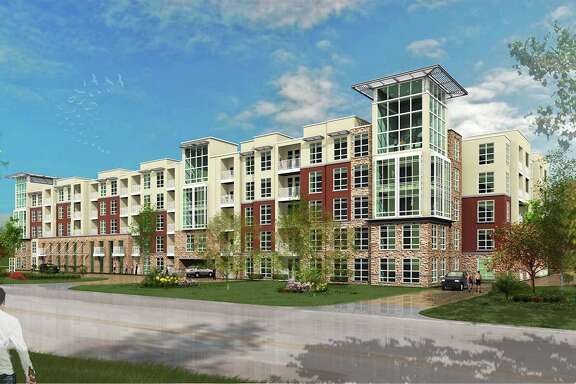 Developers expect Vargos on the Lake, shown in this rendering, to be completed by next summer.