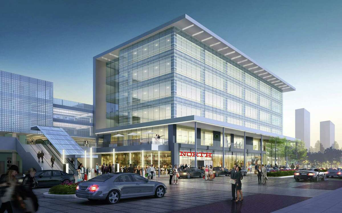A rendering of the second phase of BLVD Place with the new North restaurant.