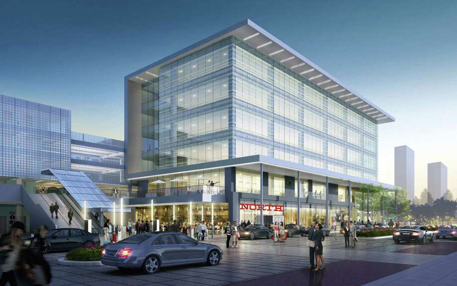 A rendering of the second phase of BLVD Place with the new North restaurant. Photo: AECOM