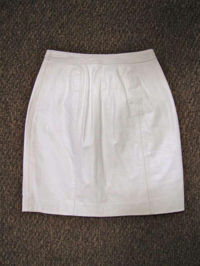 Leather pencil skirt, $2.99, Goodwill, Beaumont (Gateway Shopping Center) Photo: Cat5