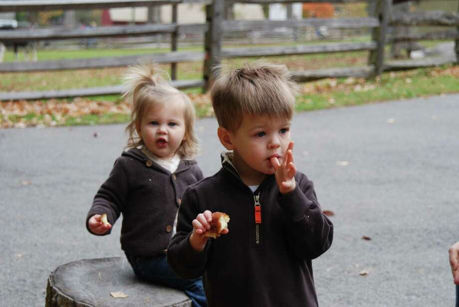 Were you SEEN at the Stamford Harvest Festival on Saturday, Oct 19? Photo: BarkeyPowell/Hearst Connecticut Media Group