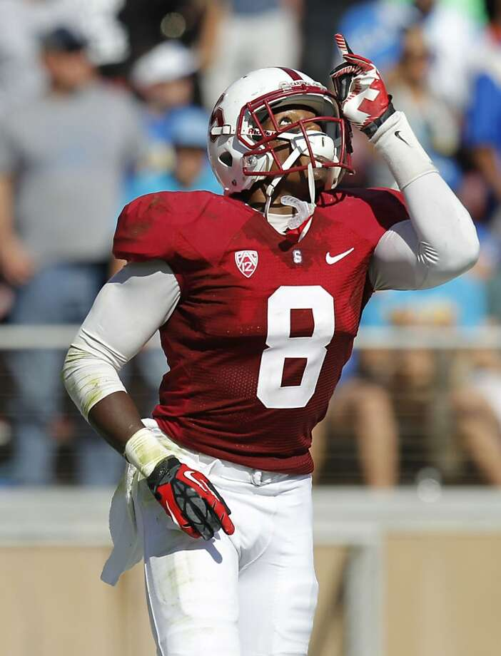 Jordan Richards, with two interceptions Saturday, helped Stanford top UCLA and boost its BCS standing. Photo: Michael Macor, The Chronicle